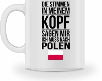 High quality Cup with quote Poland gift