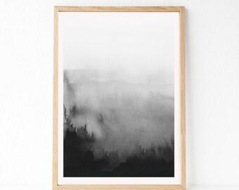 OVERSIZED Printable Art, 24x36 Black And White Print, Large Printable Wall Art, Digital Download, 24x36 Instant Download, Large Wall Art