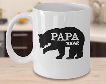 Papa Bear, Papa Bear Gifts, Papa Bear Mug, Gift for Papa, Papa Gifts, Papa Mug, Novelty Mug, Father Mug, Gift for Papa, Fathers Day Gifts