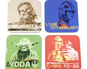 Star Wars Set of Four Official Coasters