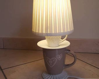 CupLamp the lamp with hand made cups