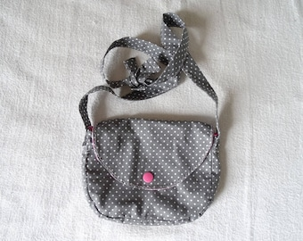 Pretty nice bag for girl (made to order with fabrics to choose)