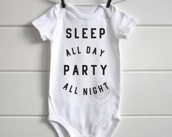 Sleep all day onesie
