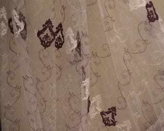 Sheer with baroque design height 270