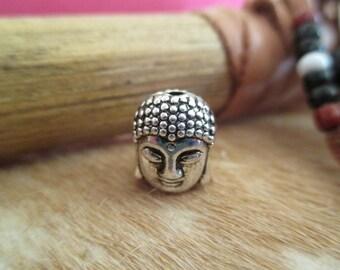 Perles tibétaine  tête de bouddha.