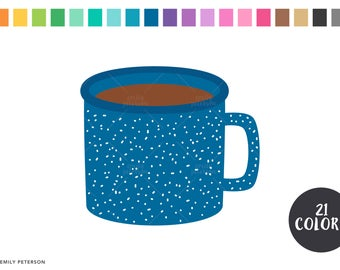 hot chocolate mug clipart. camping mugs, hot chocolate, coffee - cute clipart, clip art chocolate mug clipart l