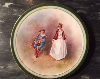 Wm Guerin Limoges Porcelain Collector Plate
