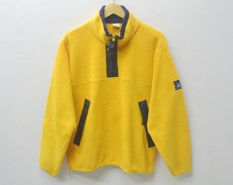 HELLY HANSEN Jacket Vintage Helly Hansen Fleece Sweater Pullover Helly Hansen Sailing Gear Size M