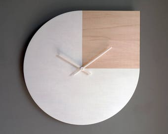 laser cut wood wall clockandy warhol quotelarge clocklarge wall clock