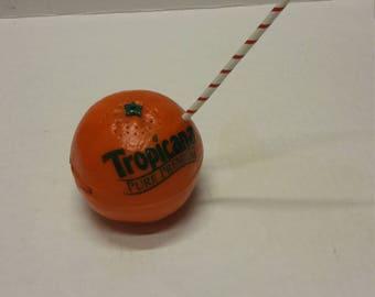 Tropicana orange juice promotional am fm radio working 70s