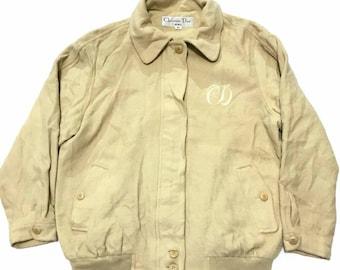 Vintage Christian Dior Logo Jacket not balenciaga raf simons gucci