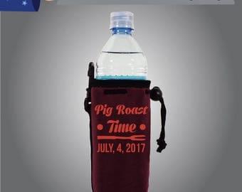Pig Roast Time Water Bottle BBQ (WB-BBQ01)