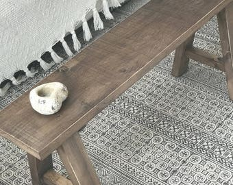 Old style bench