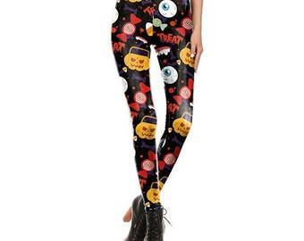 Halloween leggings | Etsy