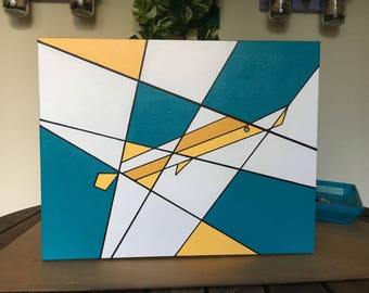 """Is that a Trumpetfish? 11""""x14"""" gallery wrapped canvas"""