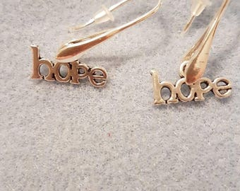 Hope drop earrings