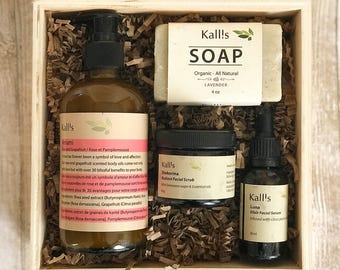 Organic skincare product Gift Sets