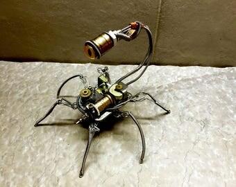 Carillon spider steampunk
