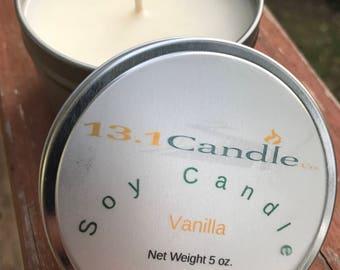 Vanilla 5 oz tin