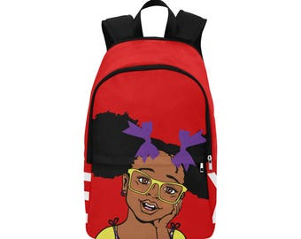 Summer Red Backpack
