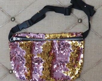 Festival Fanny Pack - Reversible Sequin