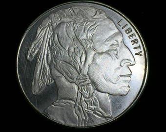 Buffalo 1 oz .999 Fine Silver Round - Indian Head Buffalo Bison