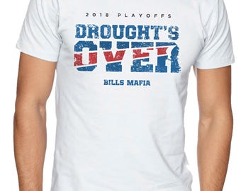 Buffalo Bills Droughts Over White Shirt