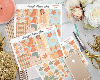 Pumpkin Patch Full Weekly Planner Kit! | For Erin Condren