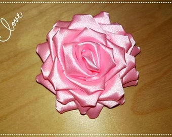 Brooch, brooch, fabric flower, Kanzashi, flower, mating flower, flower.