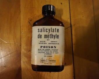 Antique Empty Poison Product Bottle