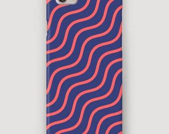 Wave Ornament iPhone Case, iPhone 6S Plus Case, Galaxy S6 Case, iPhone 7 Cover, Waves iPhone 5 Case, Case for iPhone 6S, 5S Phone Case