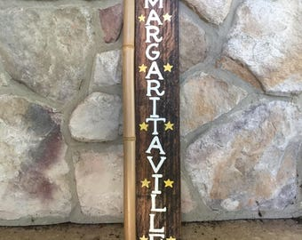 Margaritaville Sign | Margaritaville Decor | Tiki Bar Decor | Margaritaville Sign | Wood Tiki Sign | Margaritaville Signs | Tiki Bar Sign