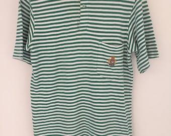 90s Polo Ralph Lauren USA Stripe Shirt Small