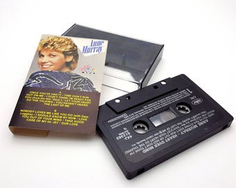 Anne Murray Heart Over Mind Cassette Tape 25 Vintage from 1984 Capitol Records Canadian Artist Singer