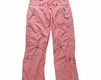 Vintage Dolce & Gabbana ® women pants pink pant security hologram size 26/40