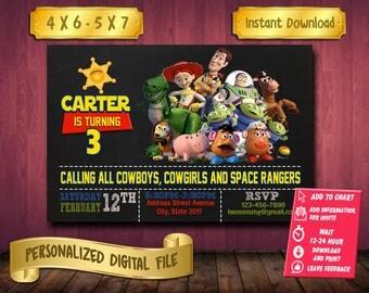 Toy Story / Toy Story Invitation / Toy Story Birthday / Toy Story Party / Toy Story Printable / Toy Story Invite / Toy Story Birthday Invite