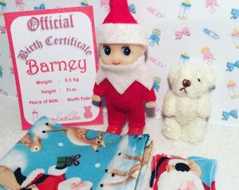 Toddler Elf Shelf Sitter Doll Barney