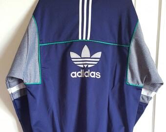 Vintage 90s Adidas sports jacket size l.