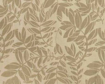 Patchwork Beige FEATHERS AND FANCY fabric for Benartex.