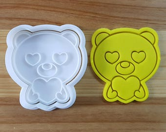 Bear Falling in Love Cookie Cutter and Stamp