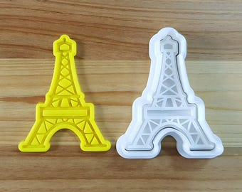 Eiffel Tower Cookie Cutter and Stamp