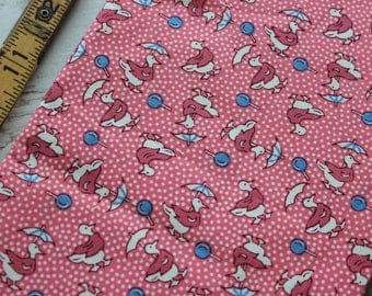 Aunt Grace Authentic 1930's Fabric by Judie Rothermel for Marcus Brothers FQ Fat Quarter 1930s Repro Ducks