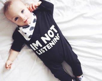 Item #029, Baby bibdana, bib, baby shower, gift, cloud pattern, bandana bib, dribble bib, baby girl, baby boy, toddler, drool bib
