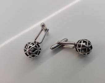 Cufflinks in sterling silver 925 Divertabah