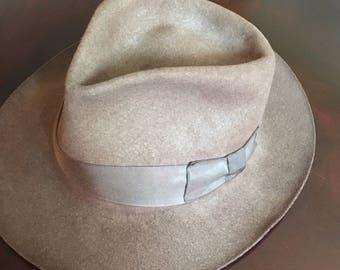 Vintage Indiana Jones Authentic Hat by John B Stetson Co 1984