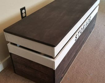 Rustic Blanket Chest (LOCAL Pickup/DELIVERY ONLY).