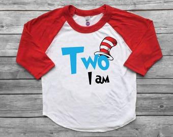 Dr Seuss Birthday boy shirt
