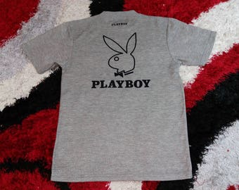 Vintage Playboy Big Embroidery Logo Back and Small Spell Out