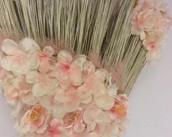 Wedding Broom Small: Dreaming Pink