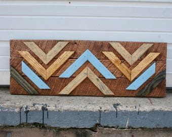 "Pallet Wood Art- ""Looking Up"""